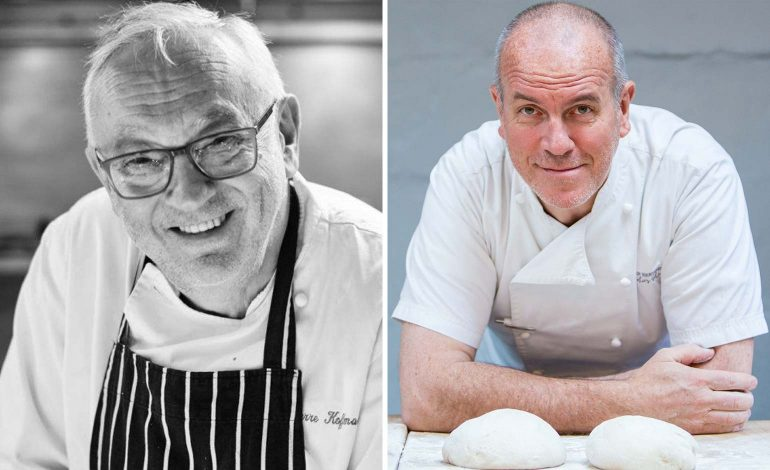 Celebrated chefs Richard Bertinet and Pierre Koffmann to host unique dinner