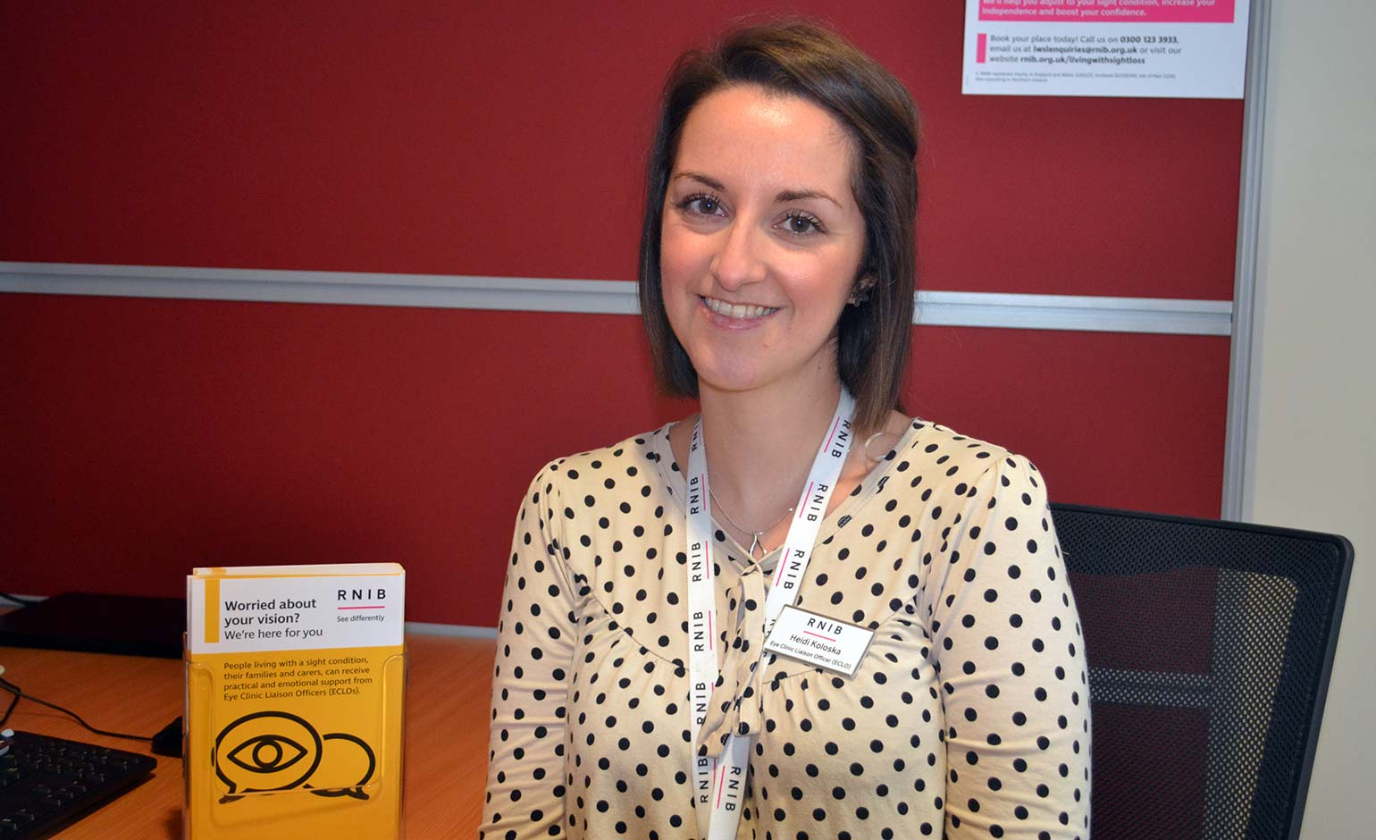 RUH launches specialist support service for people diagnosed with sight loss