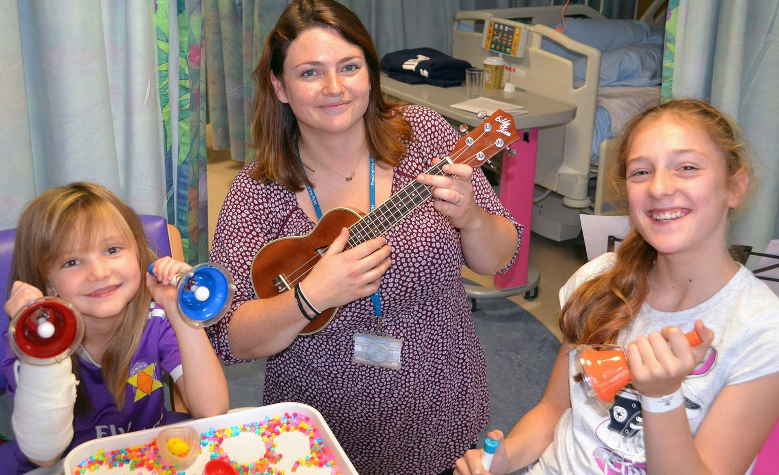 Fun on Children's Ward as RUH celebrates National Play in Hospital Week