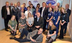 Over £150k of donations to support refurbishment of RUH's Critical Care Unit