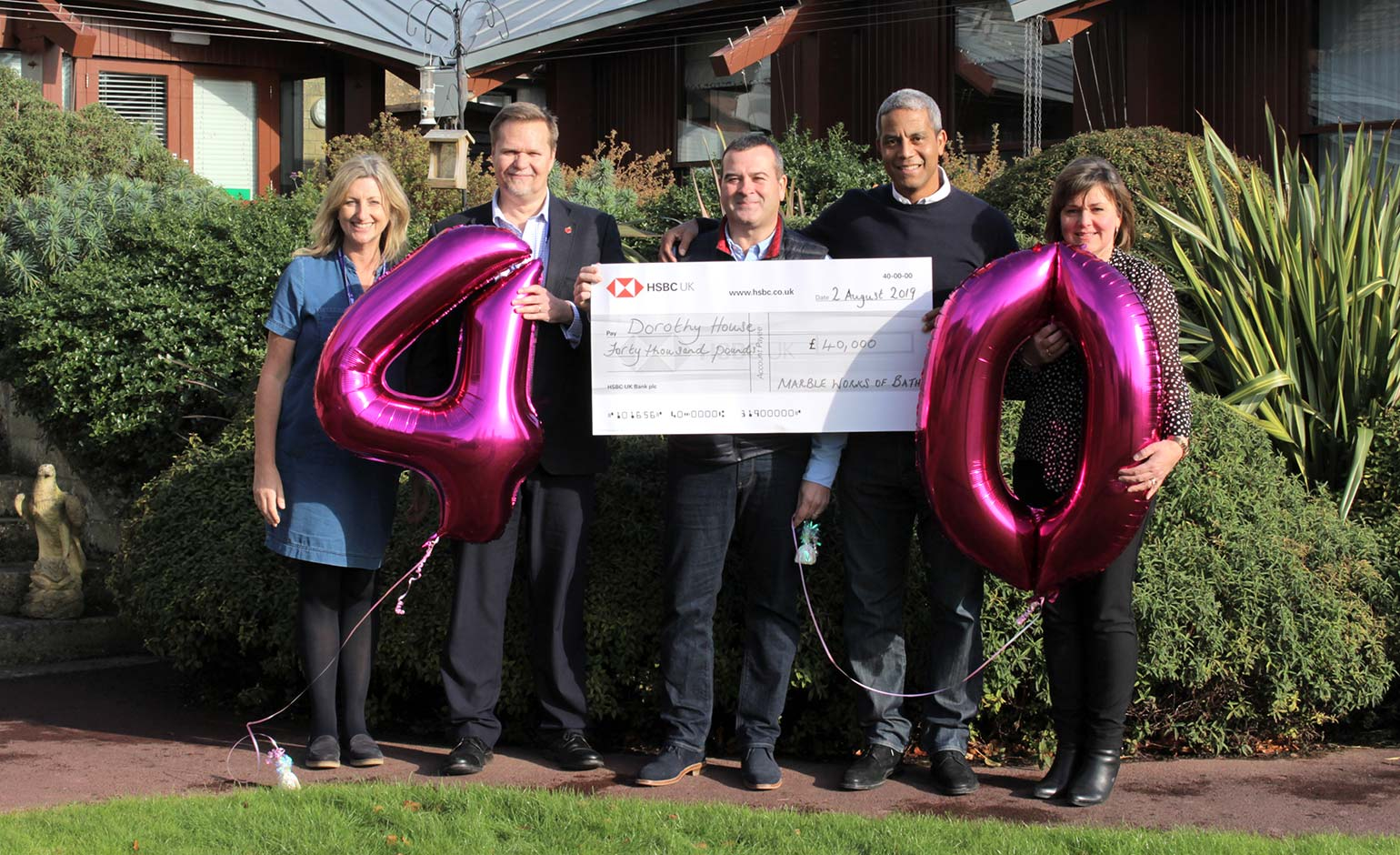 Charity golf day and auction raises £40k for Dorothy House Hospice Care | Bath Echo