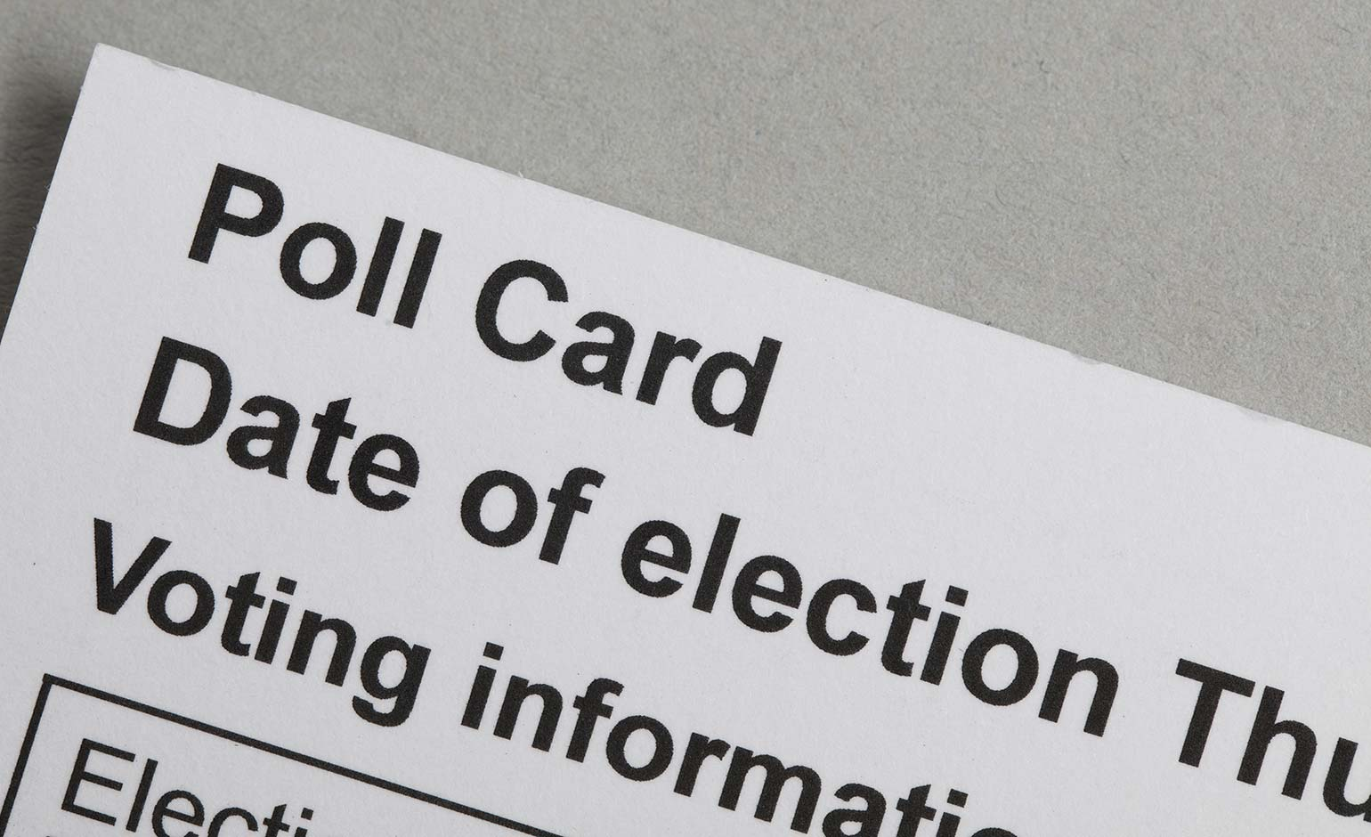 Residents urged to ensure their electoral registration details are up to date