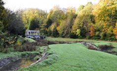 Work to restore Prior Park Landscape Garden's historic dams gets underway