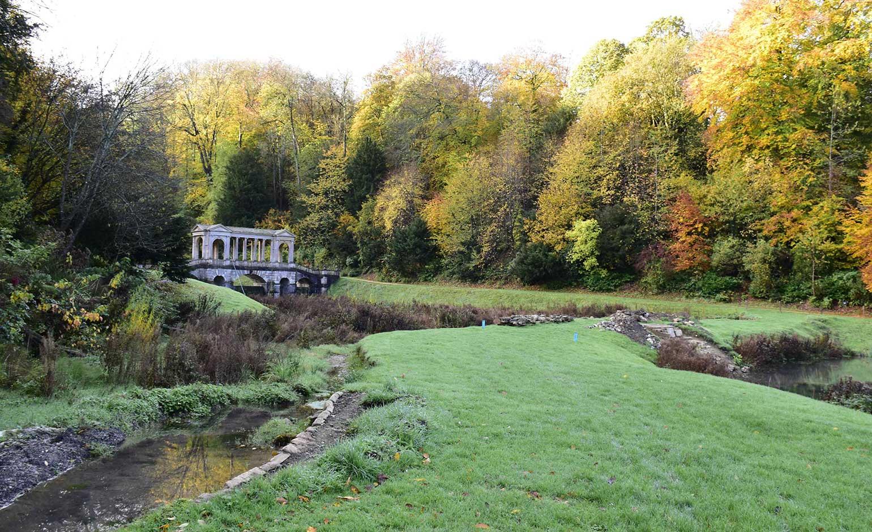 Work to restore Prior Park Landscape Garden's historic dams gets underway   Bath Echo