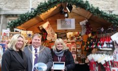Winner of Bath Christmas Market's 2019 Best Dressed Chalet announced