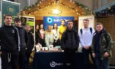 College entrepreneurs enjoy business success at the Bath Christmas Market