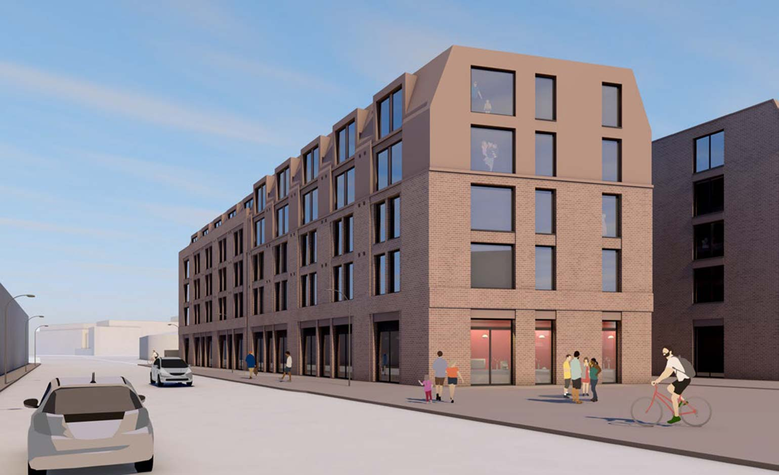 Plans submitted to build student accommodation on Mini dealership site