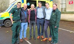 56-year-old Bath man reunited with lifesavers after heart stops beating