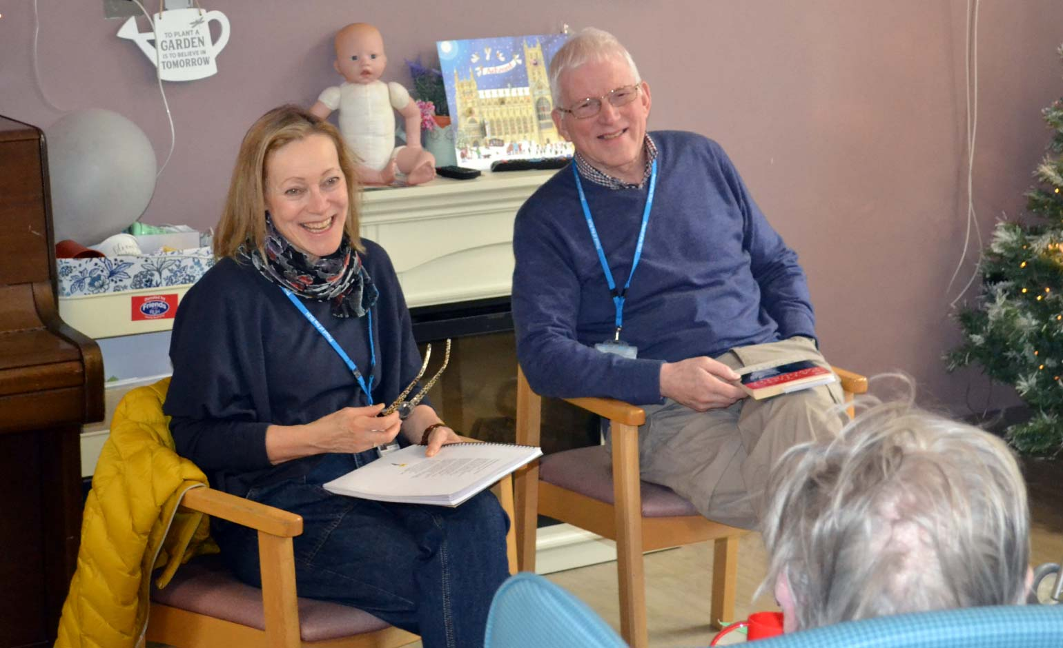 Older patients enjoy series of poetry readings at the Royal United Hospital