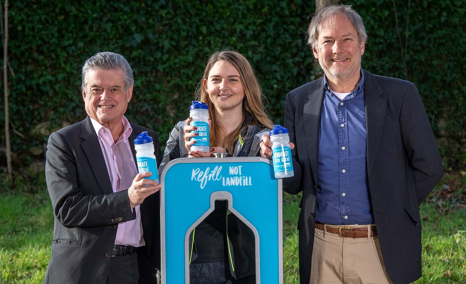 New partnership set to offer fresh tap water to Bath Half Marathon runners