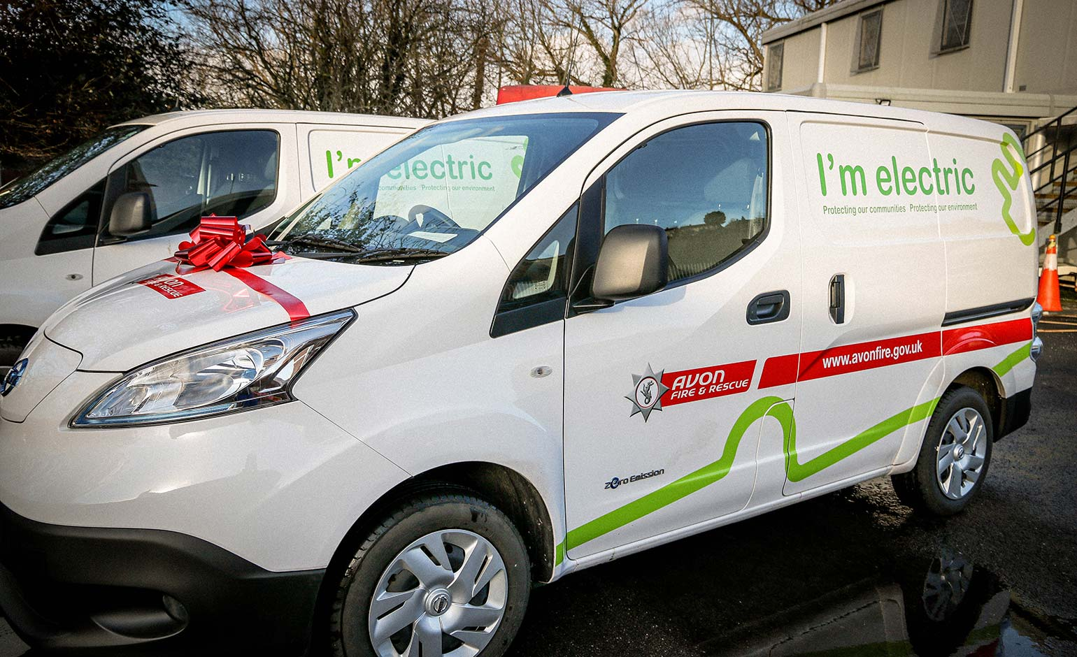 Avon Fire & Rescue Service introduces electric vans into its vehicle fleet | Bath Echo