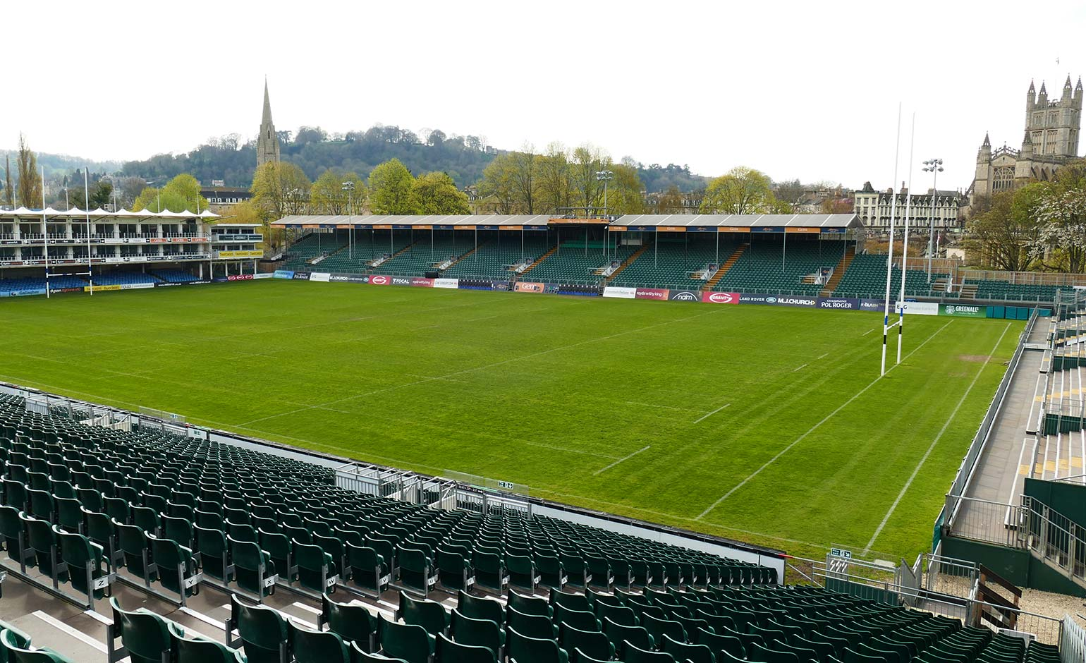 "Rugby club accused of ""using fear of pandemic"" to keep their east stand up"