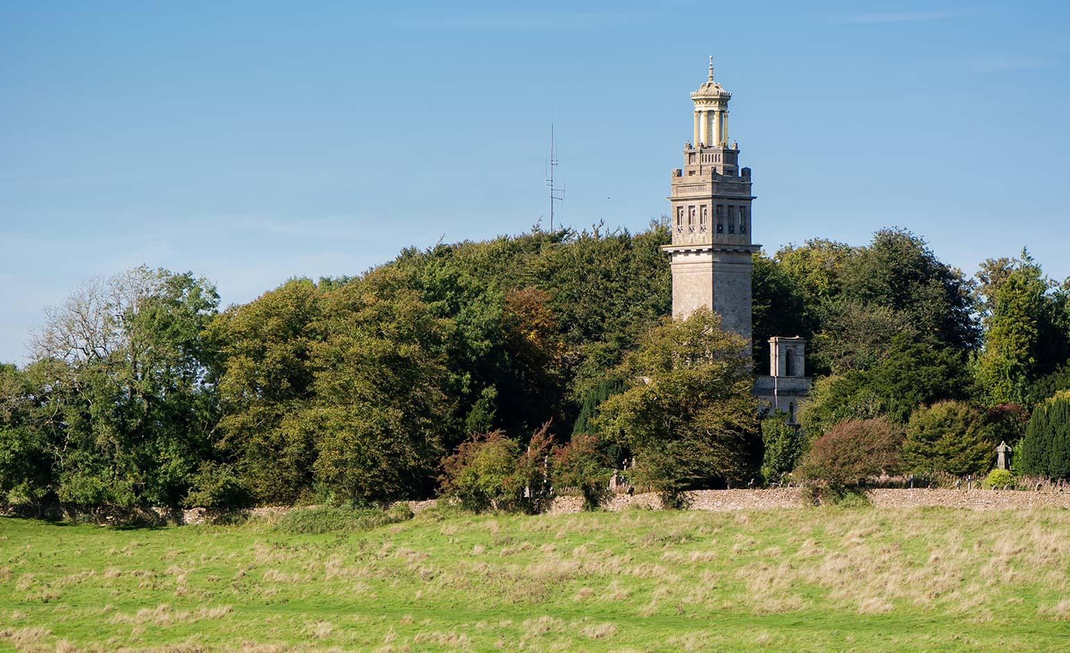 Bath Preservation Trust acquires Beckford's Tower paddocks and grotto