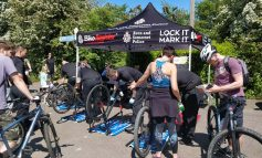 Free bicycle marking and burglary prevention event being held in Bath