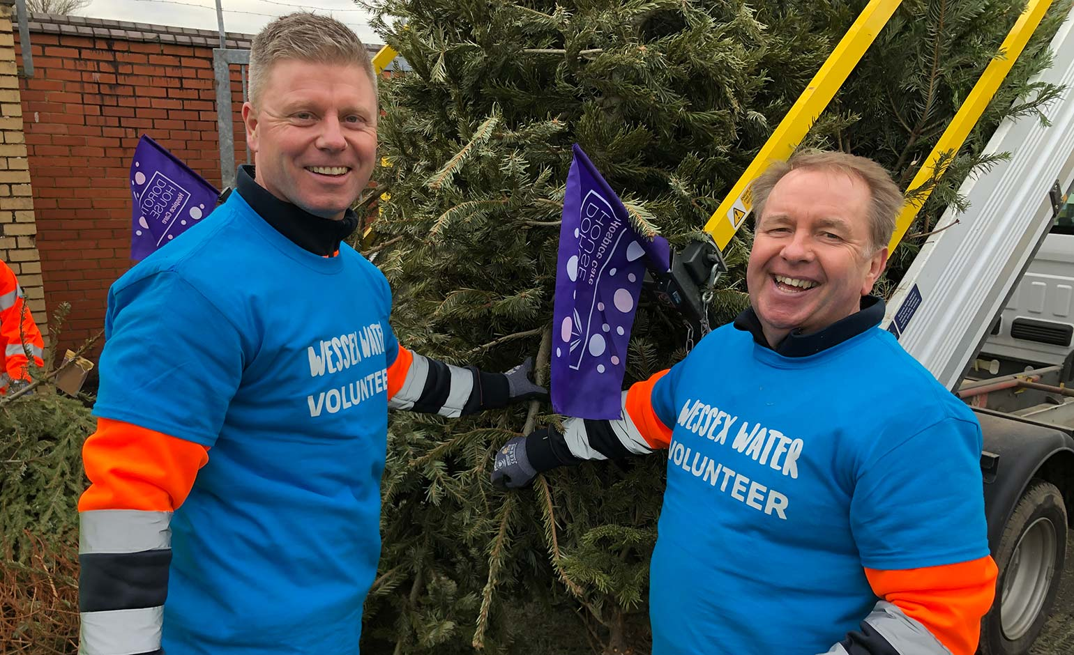 Charitable Christmas tree collection campaign raises £40k for Dorothy House