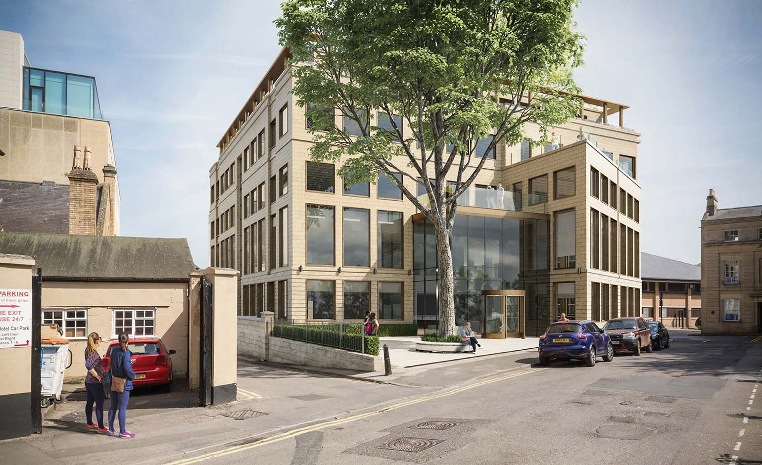 Bath offices expected to become flats after plans for extension are refused