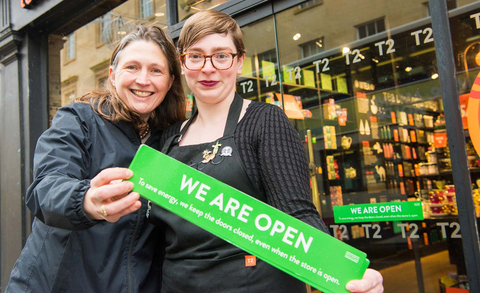 New campaign to encourage local shops and businesses to 'shut that door'