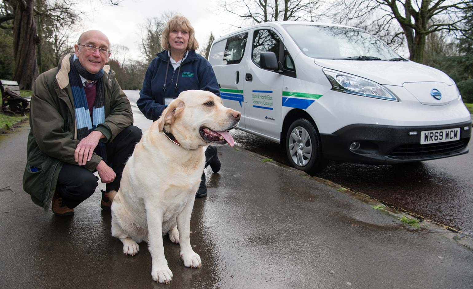 Dog warden set to patrol the area in new green electric van thanks to grant