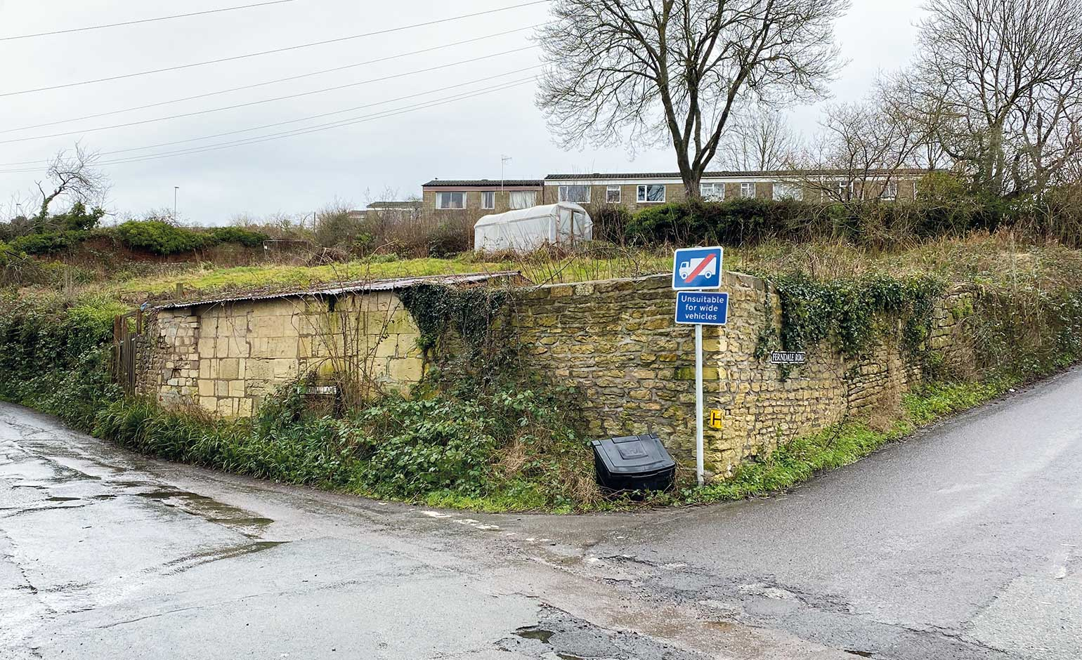 Plans submitted to build 18 homes on green belt land on the outskirts of Bath