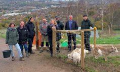 Community charity Bath City Farm benefits from £4000 corporate donation