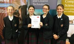 Four KES codebreakers win South West final of CyberFirst Girls competition