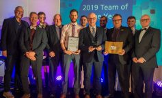 Royal United Hospital's Estates Building team honoured with special award