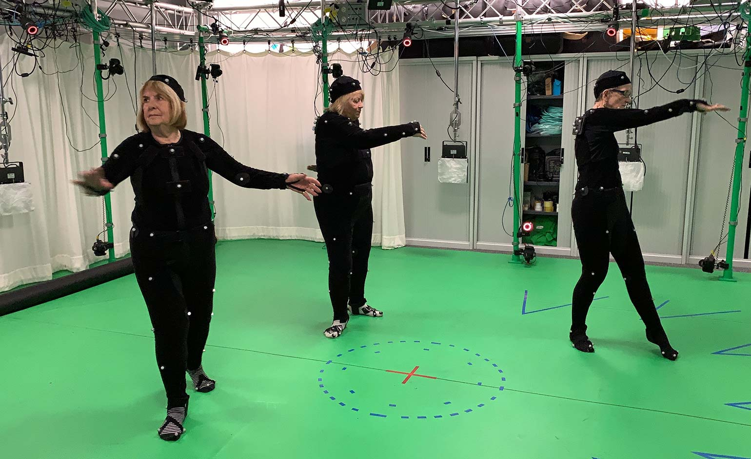 Motion capture technology being used to prevent falls in older people