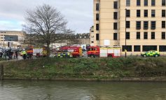Police divers search river in centre of Bath after man seen in the water