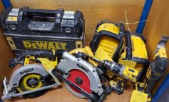Police launch appeal to reunite stolen power tools with their rightful owners