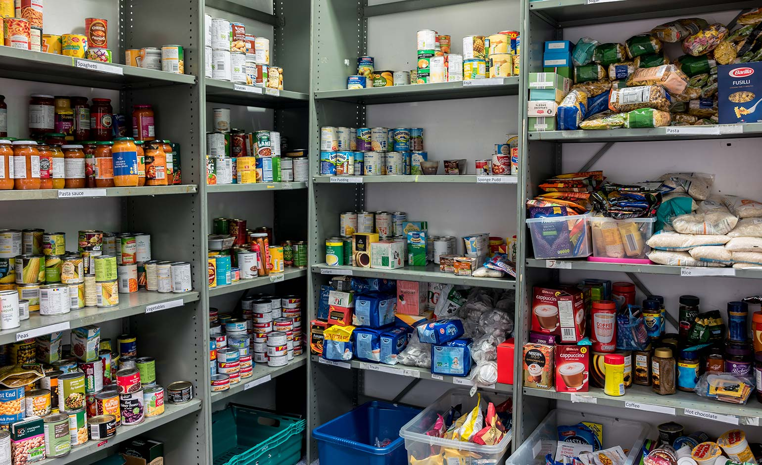 Residents being urged to support busy foodbanks with extra donations