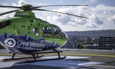 Local air ambulance charity set to assist with transferring COVID-19 patients