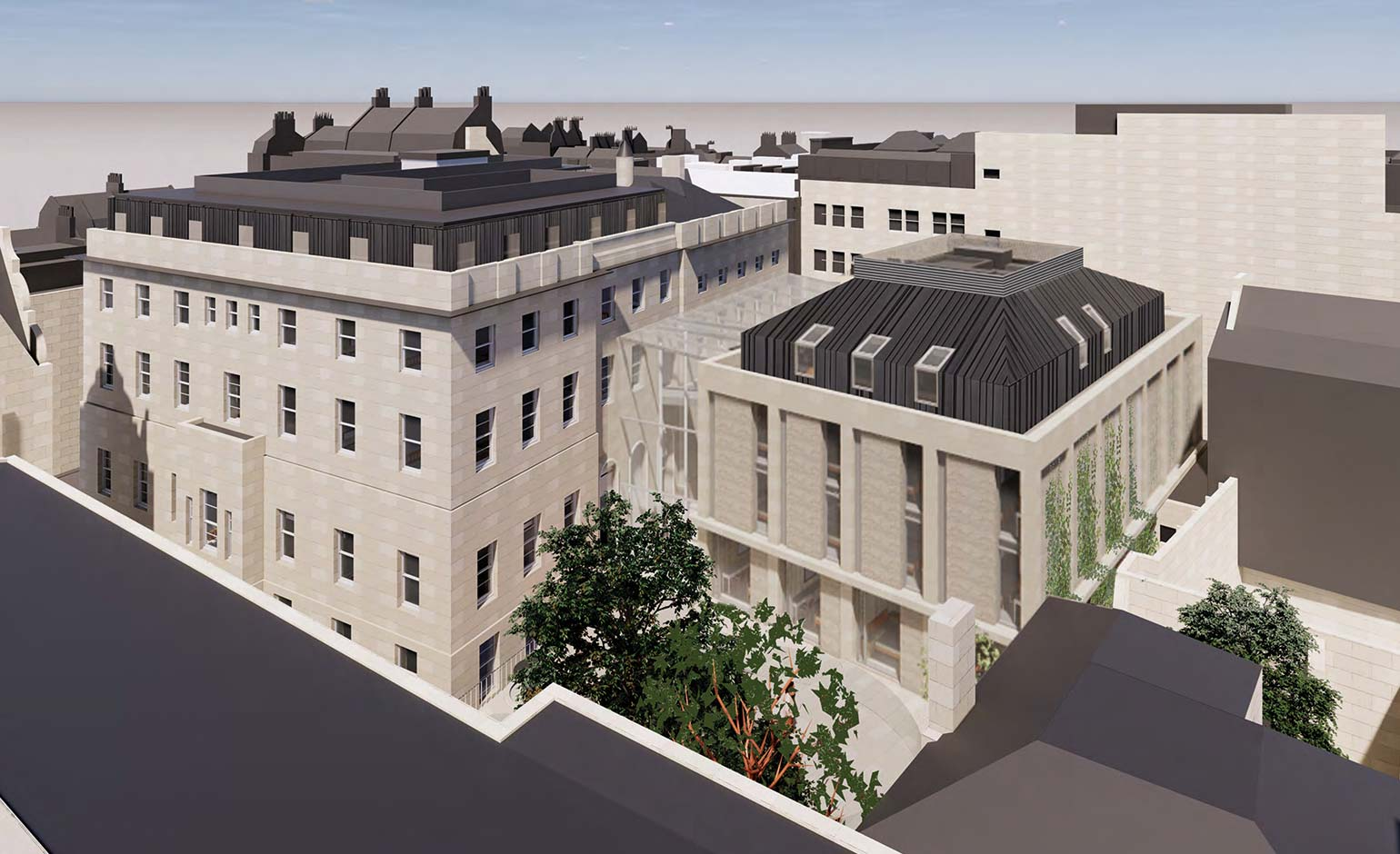 Plans to transform former Bath hospital revised after nearly 100 objections
