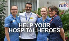 RUH charity's Hospital Heroes Appeal raises almost £80k in three weeks
