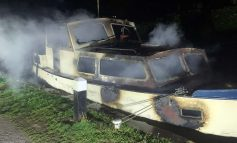 Investigation to get underway after fire crews tackle boat blaze in Widcombe