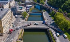 60-metre long Bath Quays Bridge superstructure set to be installed