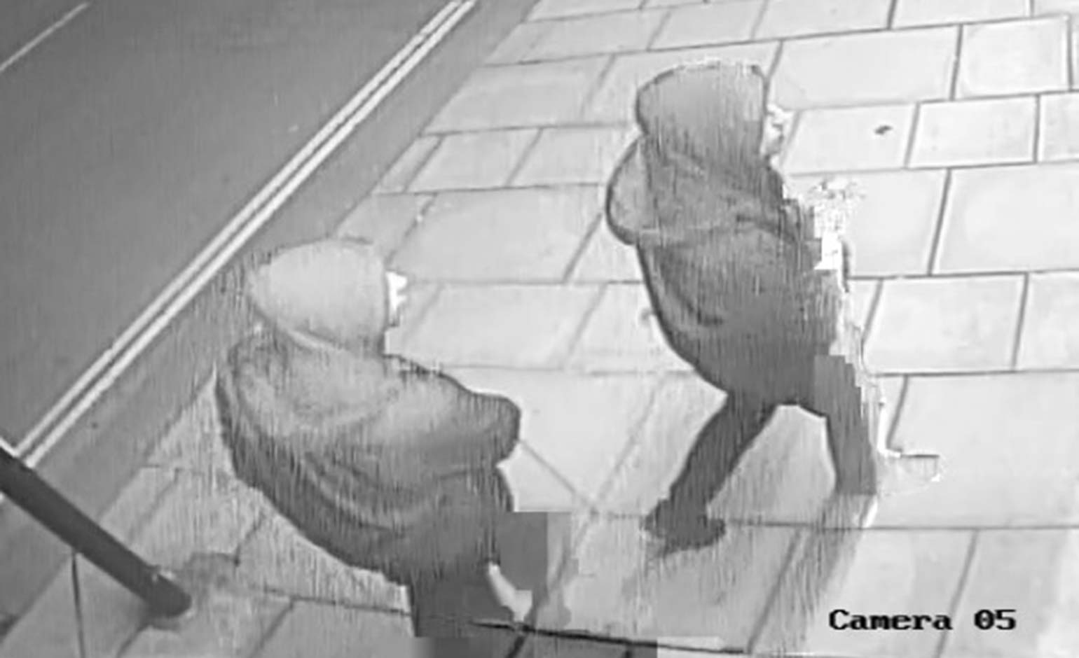 CCTV images released as part of ongoing city centre graffiti investigation