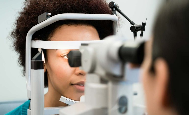 Sight loss charity RNIB issues warning for people to look after their eyes