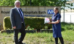 Somerset Freemasons donate ten tablet computers for patients at the RUH