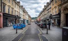 Milsom Street's temporary bus gate enforcement cameras switched on