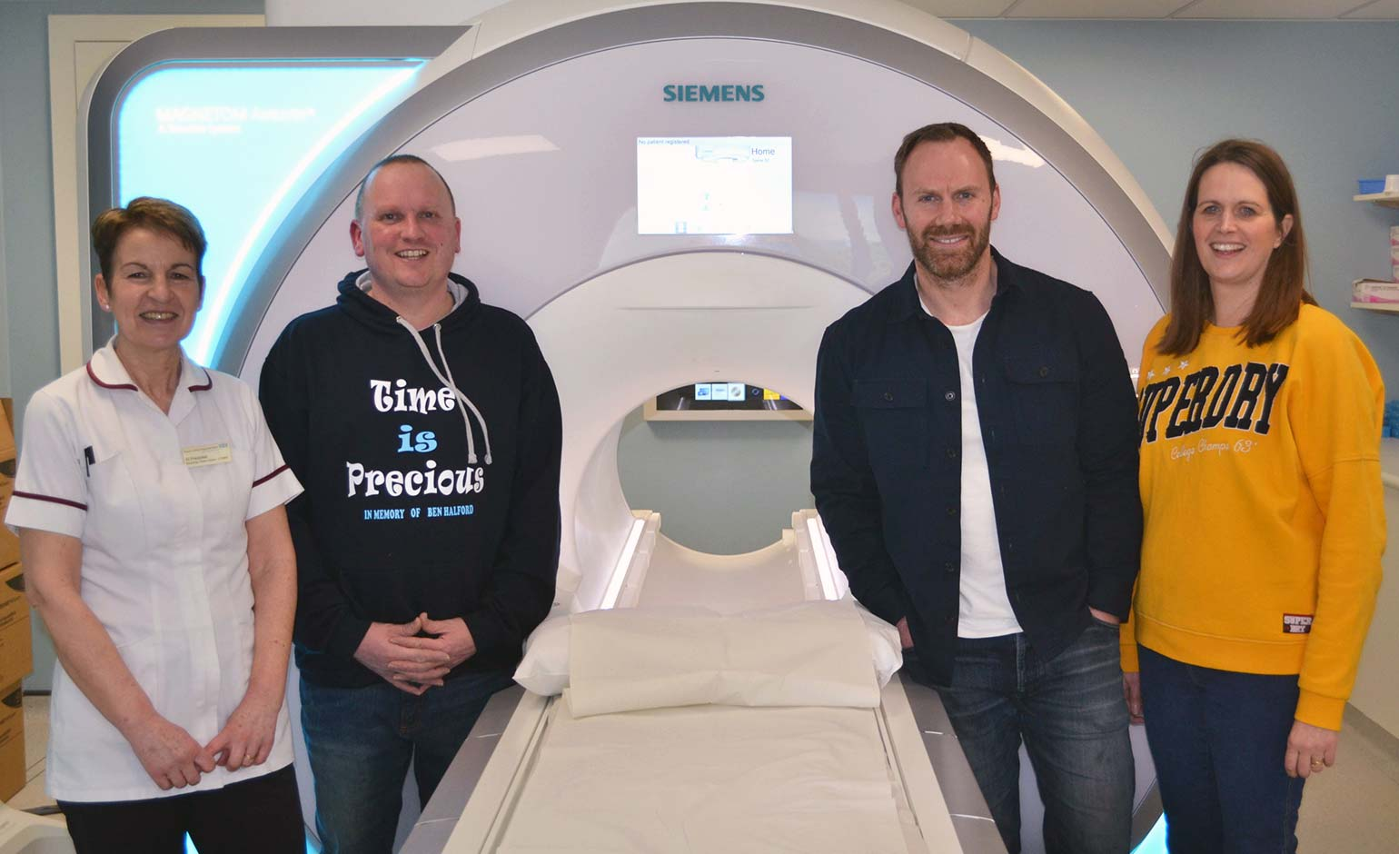 Generous donation helps younger patients undergoing MRI scans at RUH