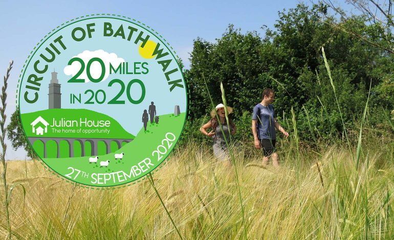 Julian House calls on public to support their upcoming Circuit of Bath Walk