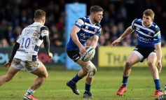Experienced half-back duo to sponsor Bath Rugby Foundation learners