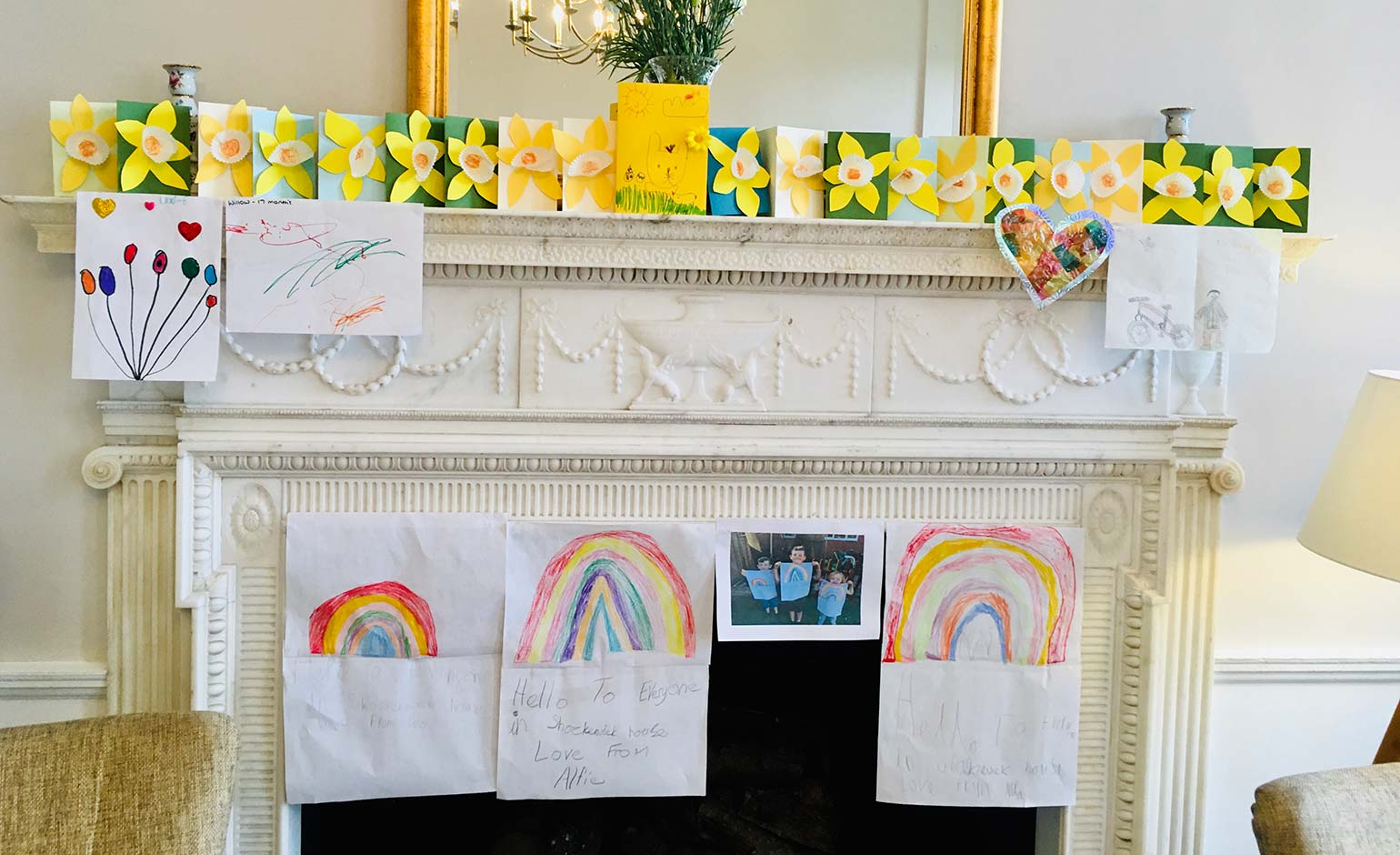 Bath schoolchildren send handmade crafts to support local care home
