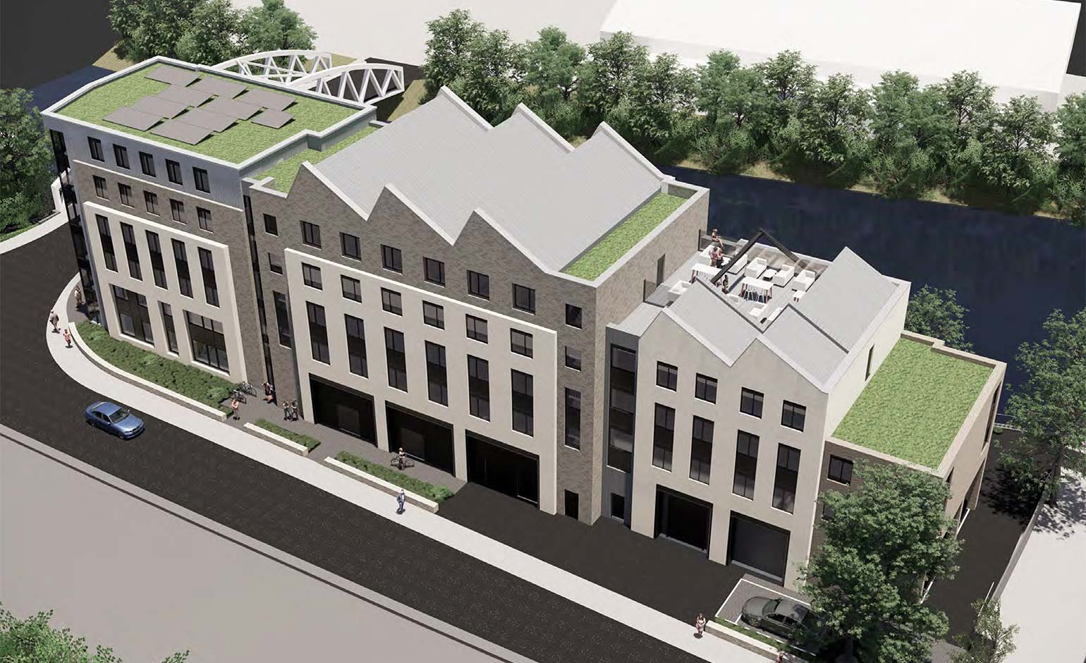 Future-proofed student accommodation planned for Jubilee Centre in Bath