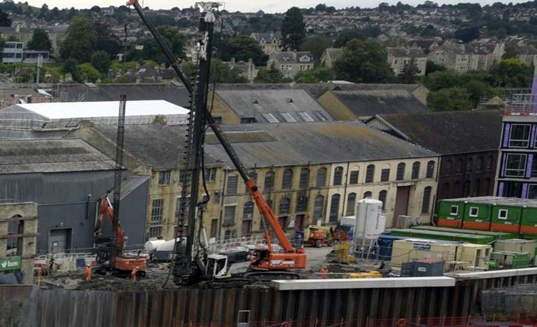 Major milestone reached in the construction of new Bath Quays Bridge