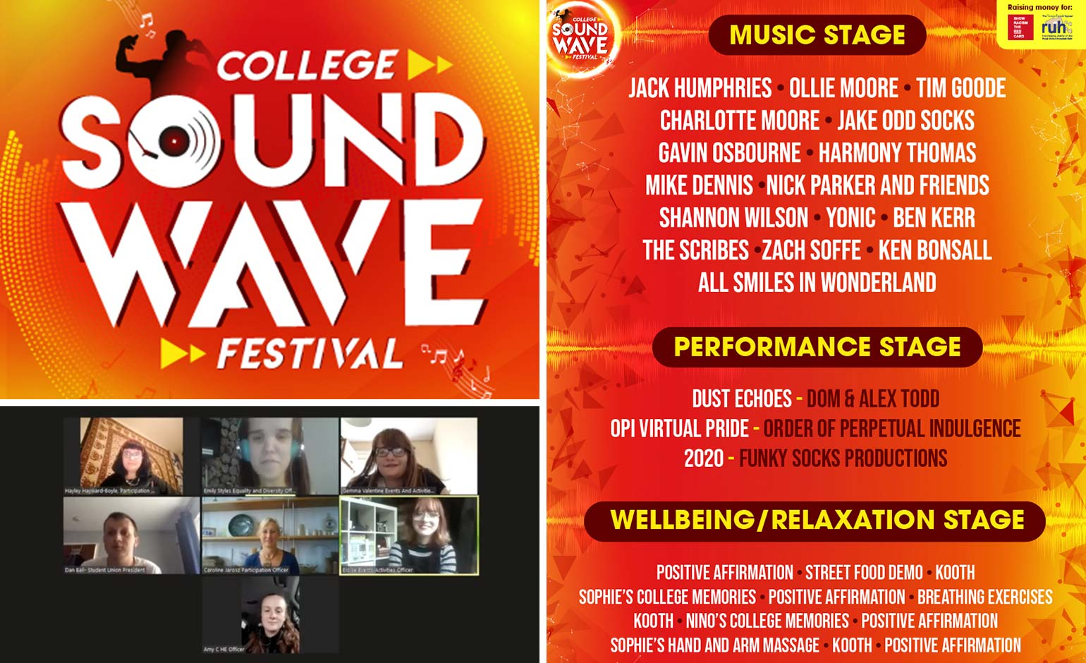 Innovative college students put on virtual festival to celebrate end of term