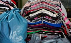 Over 200 bags of clothes and kitchen equipment donated by students