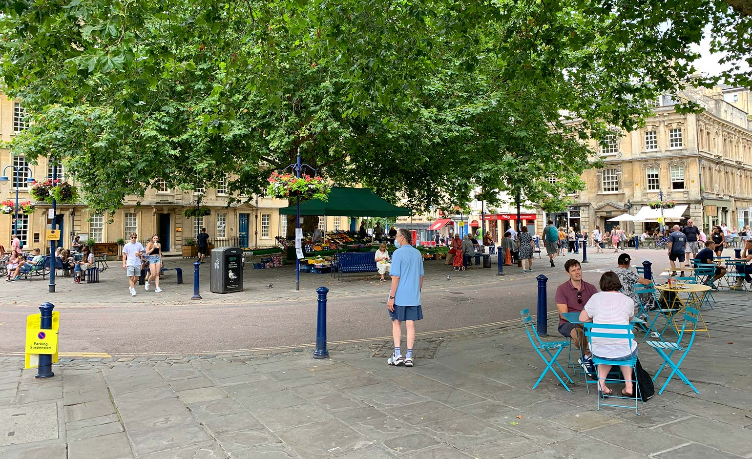 Pedestrianisation welcomed as Kingsmead Square businesses start to recover
