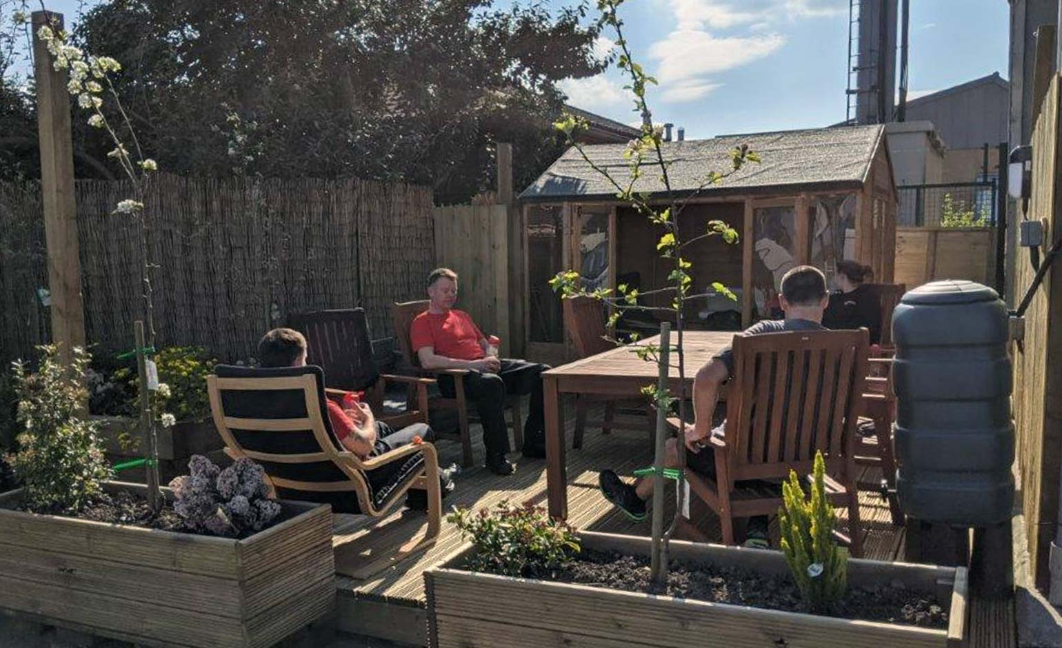 Avon Fire & Rescue Service creates wellbeing spaces to support their staff