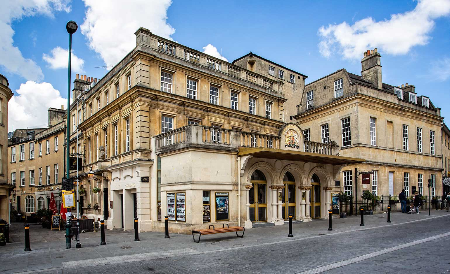 Work underway to welcome audience members back to Theatre Royal Bath